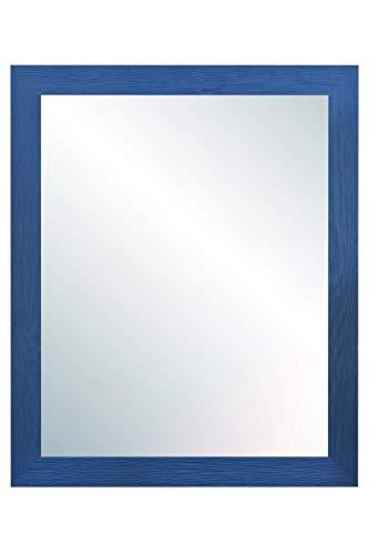 Chely Intermarket, Espejo de Cuerpo Entero 40x50cm (47,50x57,50cm) Azul/Mod-146, Ideal para peluquerías, salón, Comedor, Dormitorio y oficinas. Fabricado en España. Material Madera.(146-40x50-2,80)