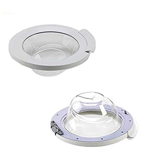 DREHFLEX - Bullauge/Tür für Waschmaschine - paßt für Bosch/Siemens Teile-Nr. 00704286/704286