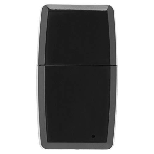 FOLOSAFENAR Receptor Bluetooth de música de Alta fidelidad Duradero Receptor estéreo inalámbrico Compatible con la mayoría de los Dispositivos Android e(Black, iOS)