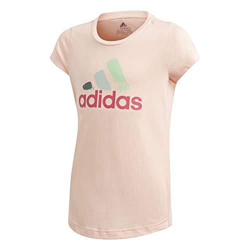 adidas Mädchen Bos Graphic T-Shirt, Hazcor, 164