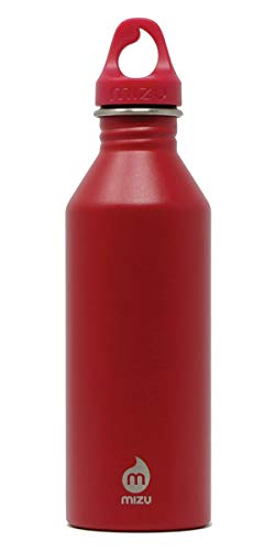 Mizu Life M8 Trinkflasche, Enduro Red, 800ml
