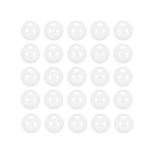 uxcell 6mm Ceramic Bearing Balls, ZrO2 Zirconium Oxide Ball G5 Precision 25pcs