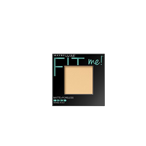 Maybelline Fit Me Matte + Poreless Pressed Powder, Classic Ivory 0.29 Ounce, 1 Count