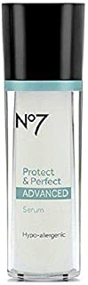Boots No7 Protect & Perfect Advanced Serum Bottle 1 Fl Oz (30 Ml)