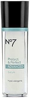 Boots No7 Protect & Perfect Advanced Serum Bottle 1 Fl Oz (30 Ml)