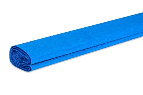 VBS papel crepé, 50 x 200 cm, aprox. 32 g/m². azul
