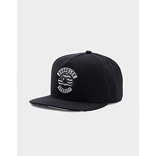 Tanxianlu Gorra Gorras Beisbol DC Cap Black Hip Hop Street Dance Snapback Sombrero para Hombres Mujeres Adultos Gorra de béisbol Informal al Aire Libre Hueso,1