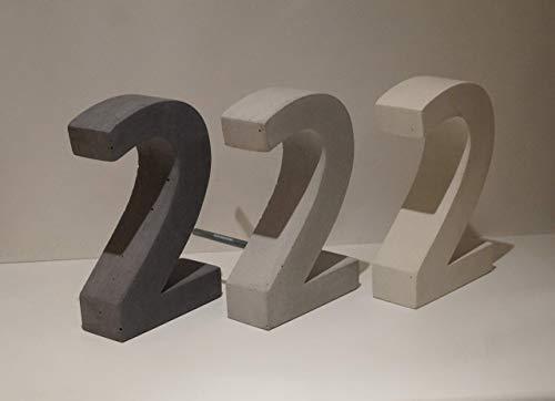 Hausnummer Beton art-beton-design