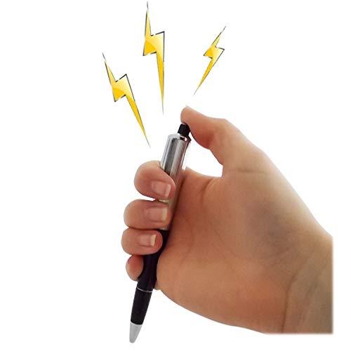 Bolígrafo de broma con descarga eléctrica
