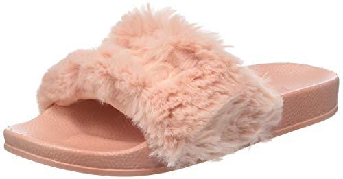 Victoria Women's Sandalia Pala Pelo Zapatillas Mujer