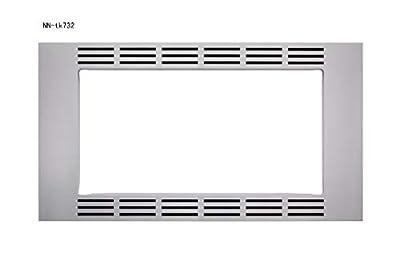 """Panasonic 30"""" Trim Kit for Panasonic Stainless Microwave Ovens"""