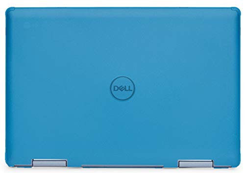 mCover Hard Shell Case for 14' Dell Inspiron 14 5481 2-in-1 Series Laptop Computers (NOT Compatible with Other Dell Inspiron Series) (Aqua)