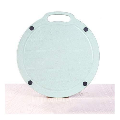 zxb-shop Tabla de Cortar de Cocina Tabla de Cortar Tabla de Cortar de Cocina Pegamento plástico Junta de Fruta doméstica pequeña Tabla de Cortar compartida Profesional (Color : A, Size : L)