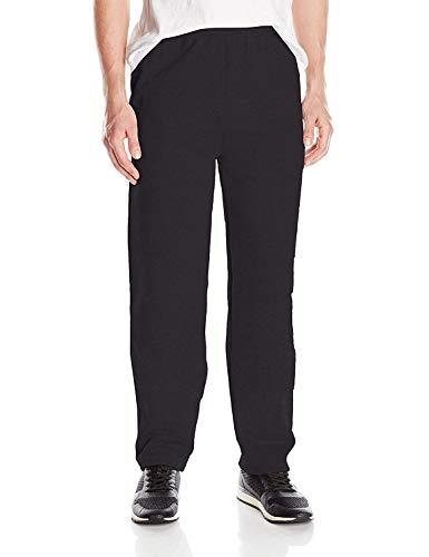 Hanes Men's EcoSmart Open Leg Fleece Pant