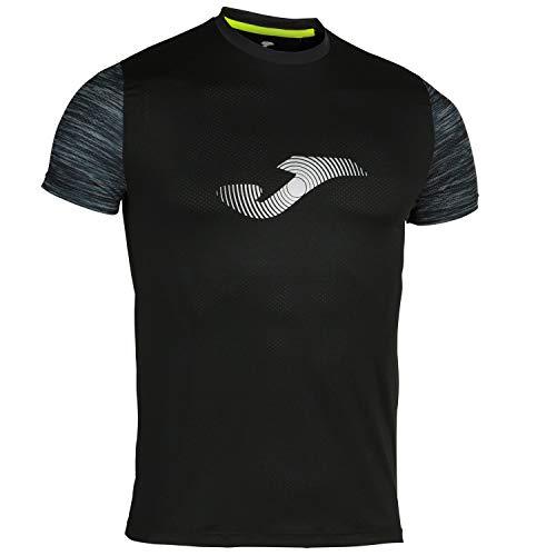 Joma Camiseta Running Night Negro, Hombres, S