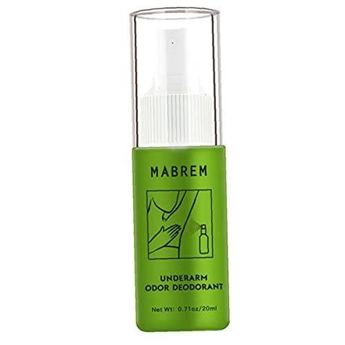 GGOOD Olor de Las Axilas Remover Aerosol antitranspirantes Desodorante Agua Olor Corporal Extracción de Agua para axila Sudor Productos de Cuidado de la Salud Tratamiento 20ML