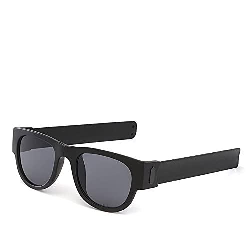 N\C Puente de Nariz de Metal Gafas de Anillo a presión Anti-Rotura Polarizadas Conducción Montar Deportes al Aire Libre Gafas de Sol de Playa