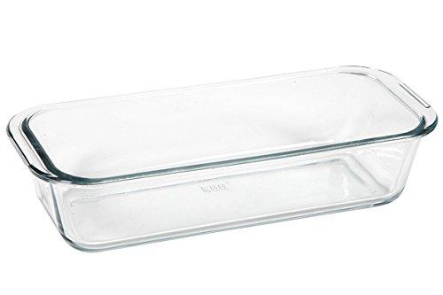 Inconnu 500° 012137transparente Glaskuchenform 31x 12,6x 7cm, 1,7l