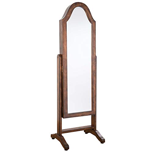 Hives and Honey Bellshape Jewelry Armoire and Mirror