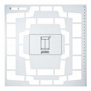 呉竹 手作り封筒テンプレート 長形 SBTP12-20 / 3セット