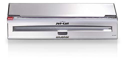 Jet-Cut Système de Recharge pour Films Alimentaires en Inox 45 cm, avec 500 m film Jet-Cut + 70 m film Alustar