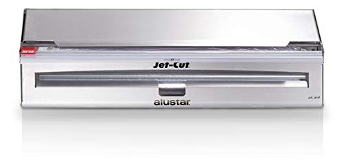 Jet-Cut INOX+ Dispenser inklusive Frischhaltefolie & Alufolie, Gastronomie, Edelstahl, 45 cm