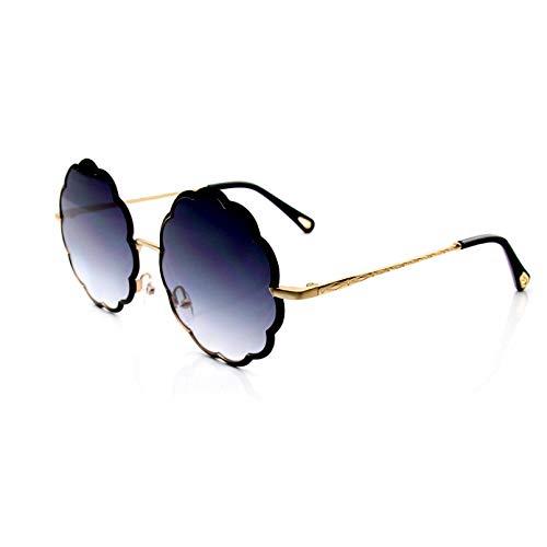 N/A Gafas de Sol para Hombre Gafas de Sol para Mujer Nuevas Gafas de Sol Gafas de Sol con Guirnalda de Metal Gafas de Sol de Moda Gafas de Sol Unisex