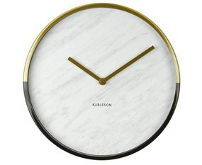 Present Time Karlsson Modern Wall Clock - Unique &...