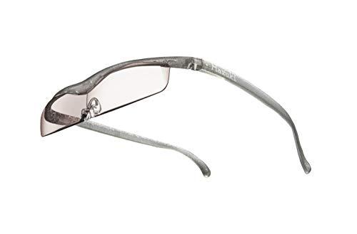 Hazuki ハズキルーペ 直営店 公式店 限定 倍率交換保証付き クール 1.32倍 カラーレンズ チタンカラー ハズキ 拡大鏡 ルーペ メガネ型 眼鏡型 めがね型 メガネ 眼鏡 めがね 日本製 MADE IN JAPAN ギフト