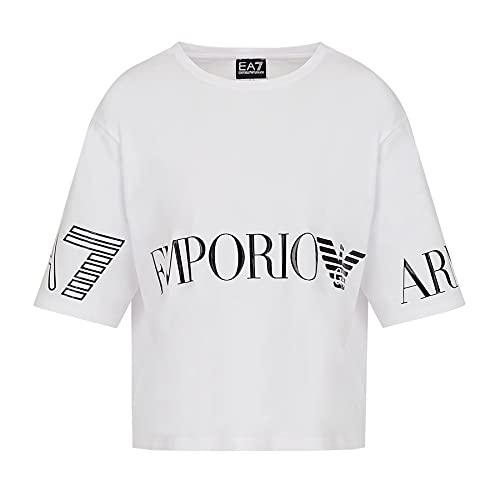 Emporio Armani - Camiseta de mujer EA7 3KTT18-TJ29Z Primavera/Verano blanco XS