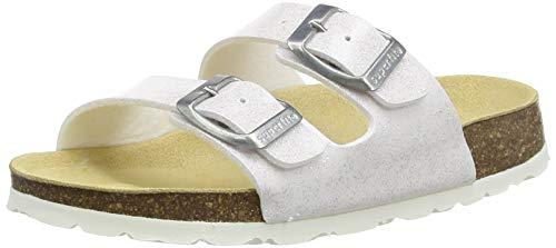 Superfit FUSSBETTPANTOFFEL Pantoffeln, Weiss, 35 EU