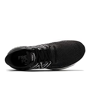 New Balance Men's Fresh Foam 1080 V11 Running Shoe, Black/Thunder, 11