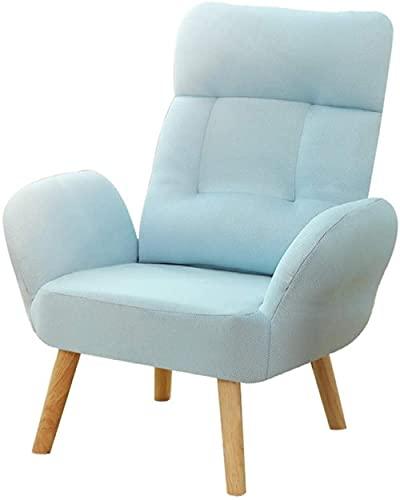 Sofá moderno para sofá, balcón, salón, ocio, sofá perezoso, silla de juegos para casa, oficina, sillón reclinable para niños, sillón reclinable con funda de asiento extraíble para Livi