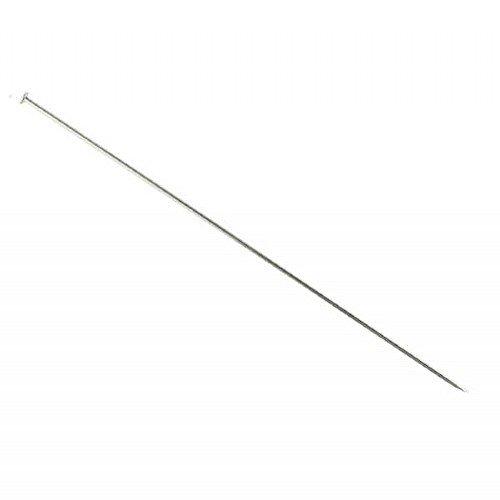 Hut-Nadel 150mm, versilbert, 10Stück