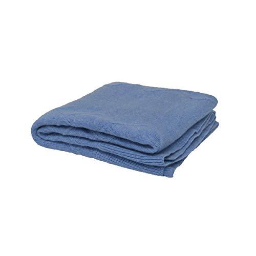 WedoUBLE I1506106A - Manta de lana para bebé TU cobalto