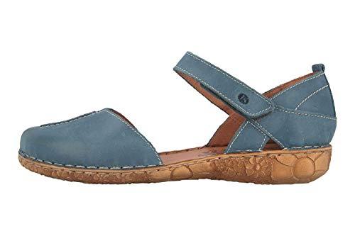 Josef Seibel Rosalie 42 Sandalen in Übergrößen Blau 79542 727 515 große Damenschuhe, Größe:44