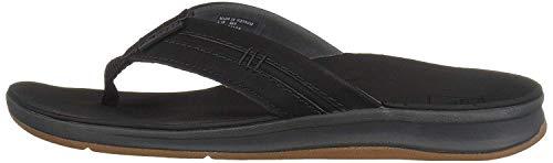 Reef Men's Ortho Coast Sandal, Black, 12