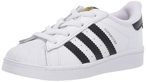 adidas Originals Baby Unisex Superstar White/Black/White 1K