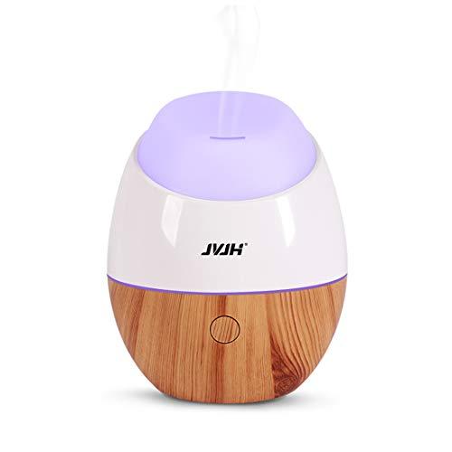 Mini Luftbefeuchter, Aroma Diffuser,Ultraschall Air Humidifier, Ultra Leise Raumluftbefeuchter mit 7-farbigem LED Nachtlicht Automatische Abschaltung, Tragbarer Luftbefeuchter (Gelb)