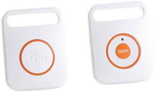 PEARL Schlüsselsucher: Digitaler Funk-Schlüsselfinder mit Sender (Schlüsselanhänger Pieper)