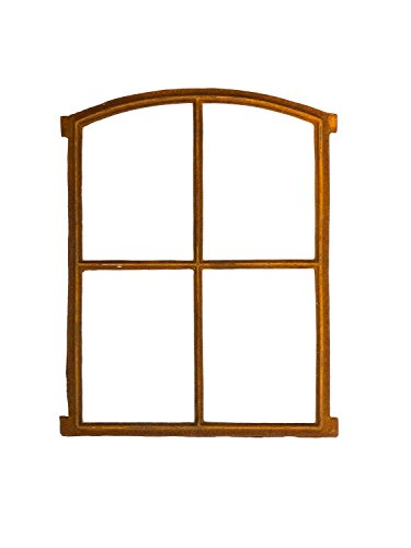 Stallfenster Eisenfenster Scheunenfenster Eisen Fenster 64x48cm im Antik-Stil