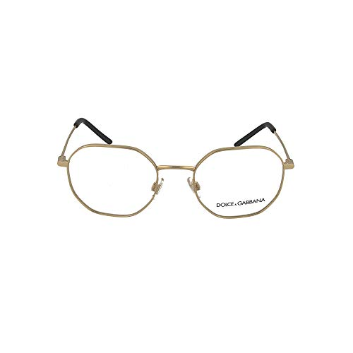 Dolce & Gabbana Gafas de Vista SLIM DG 1325 Gold 53/20/145 hombre