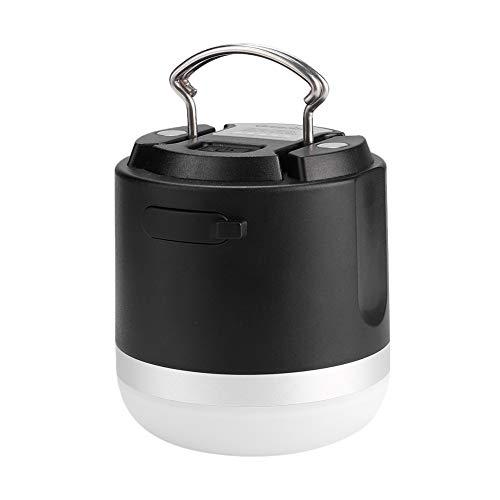 Jadpes Led-tentlamp, USB-oplader, waterdichte tentlamp met magneet en haak voor noodgevallen buitenshuis