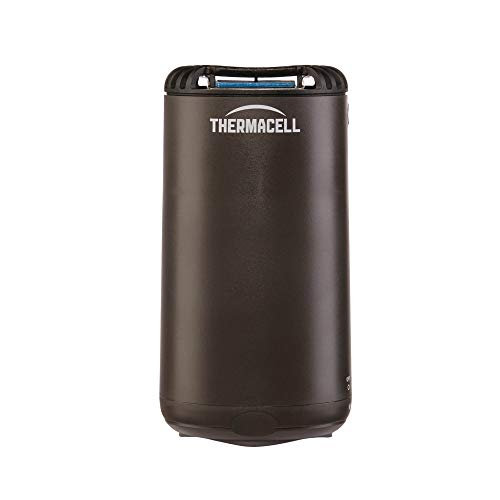 Thermacell Patio Shield Mosquito Repellent, Graphite; Easy to Use, Highly Effective; Provides 12 Hours of DEET-Free Mosquito Repellent; Scent-Free, No Spray, No Smoke and Cordless