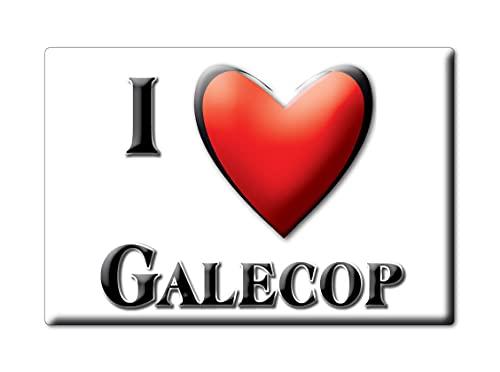 GALECOP (L) FRIDGE MAGNET NETHERLANDS UTRECHT SOUVENIR I LOVE GIFT PRESENT