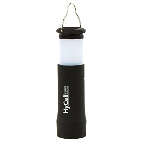 HyCell 2in1 LED-Campinglampe (inkl. fokussierbare Taschenlampe) Camping-Laterne Camping-Leuchte