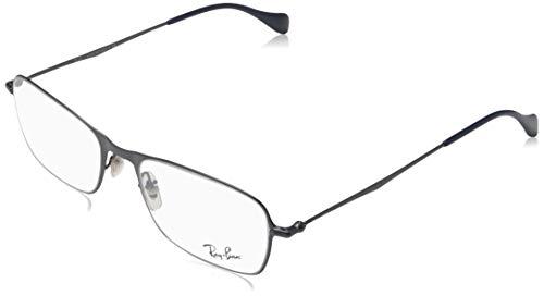 Ray-Ban RX62532755-52 Gafas de sol graduadas, azul, 54 Unisex Adulto