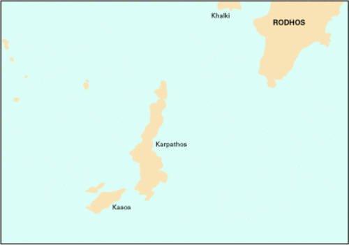 Imray Chart G39 2008: Karpathos to Rhodes (Imray G Chart)