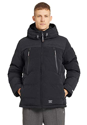 khujo Herren Winterjacke Bill 2366JK193 Black M