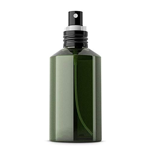 Nikgic Botella de Spray de plástico Verde Oscuro de 200 ml Botella de Spray de Niebla Fina Pequeña Botella de Spray Botella de Spray Reutilizable Botella de Spray hidratante,Boquilla de alúmina